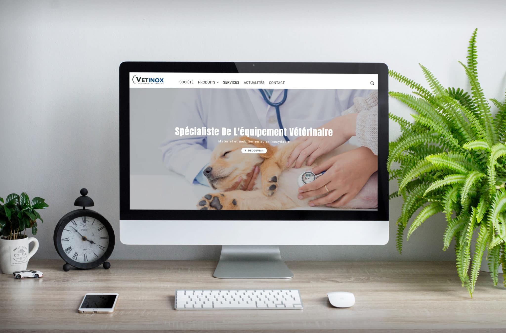 Site Internet Vetinox
