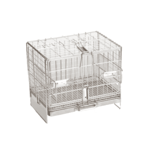 Veterinary restraint cage