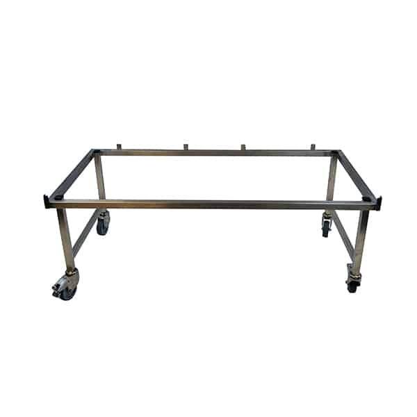 AC000206 Chassis CONFORT Inox 4 Roulettes et freins H50cm N1