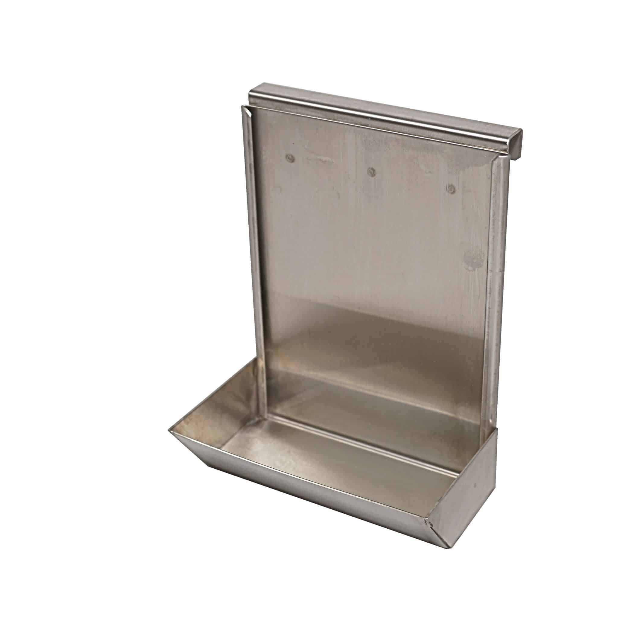 Poster holder with medicine tray