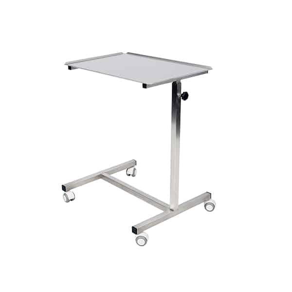 EQ600008 Table Assistant muet réglable en hauteur - plateau 600x400 N1