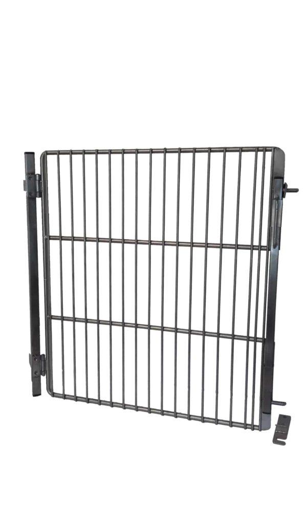 Grid door for drawn wire run