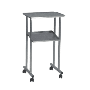 Stainless steel operating trolley
