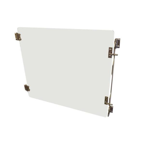 Porte en verre pour cage polyester A