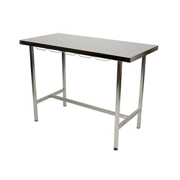 TA300000 Table consultation plateau plat INOX