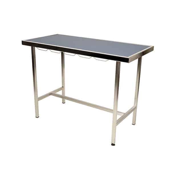 Table de consultation plateau tapis et cadre