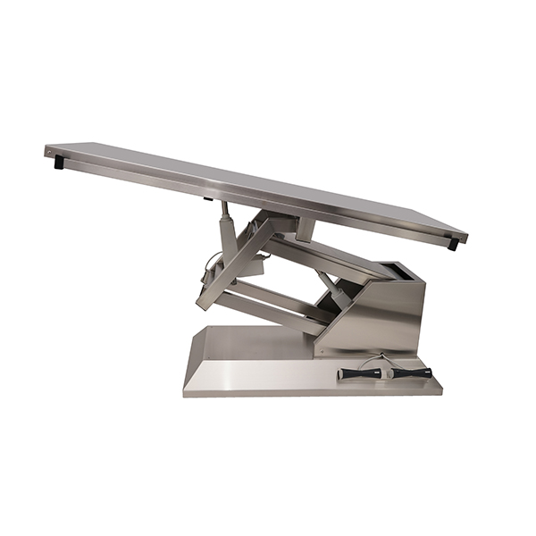 TA700000 Surgery table with stainless steel flat top 1400x530 (Trendelenburg - Electric Trendelenburg) N1