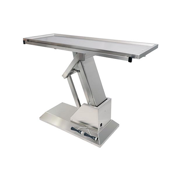 TA700001 Table chirurgie plateau 1 évacuation 1400x530 (Proclive - déclive électrique) N3