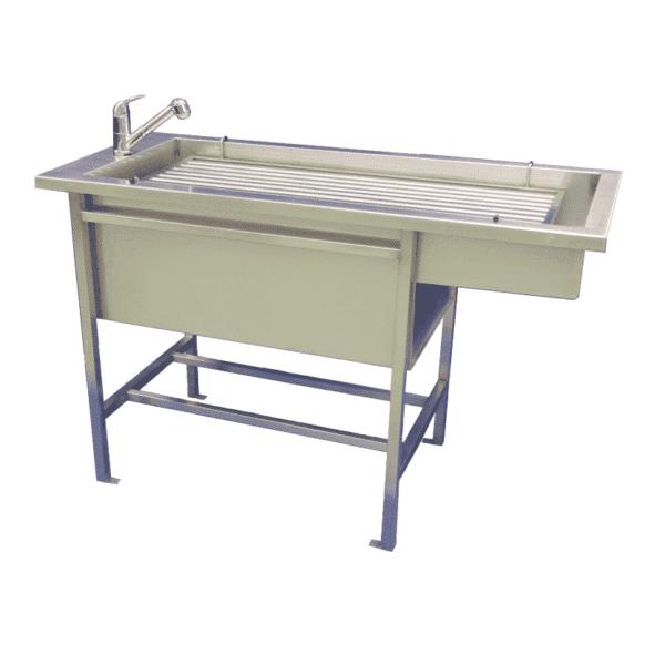 Preparation table model sabot