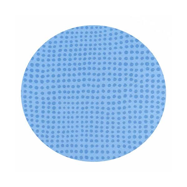 Blue consultation table mat