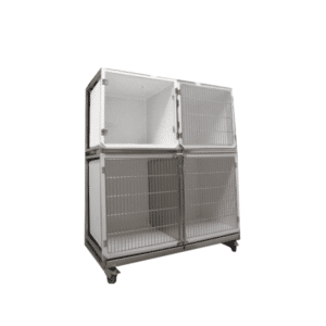 Set of 3 polyester veterinary cages