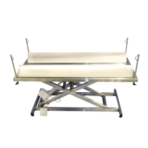 Electric surgery table for large animals