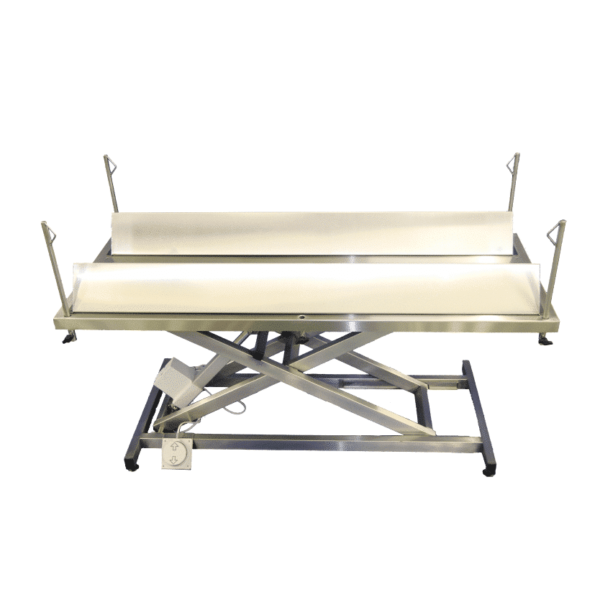 Electric surgery table for calves and sheep