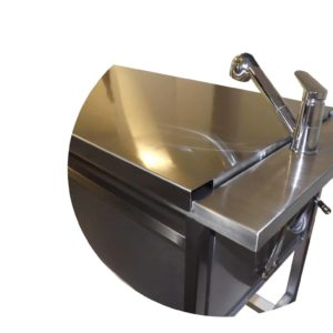 Single lever table mixer
