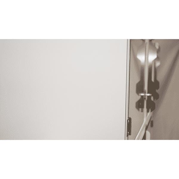 revetement blanc assemblage cage polyvet