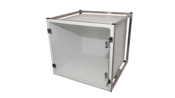 CP200005 Cage polyester A avec porte en verre L490 H510 P610 N3