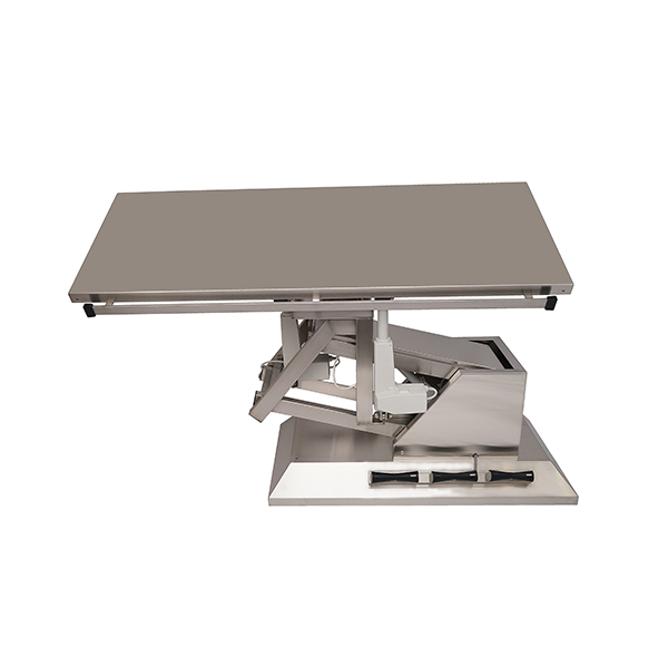 TA700100 Surgery table with stainless steel flat top 1400x530 (Trendelenburg - Electric Trendelenburg) inclination 3rd direction N4