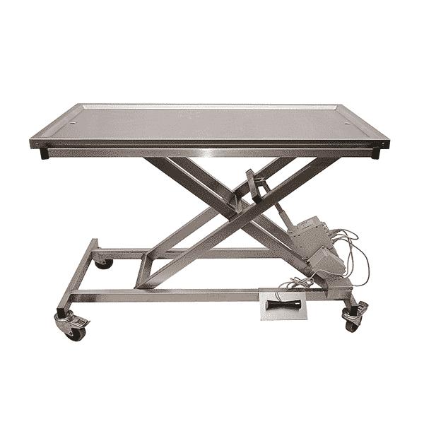 Table vétérinaire électrique plateau 2 évacuations