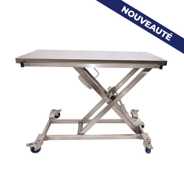 Table de consultation brancard ELITE avec bouton pressoir