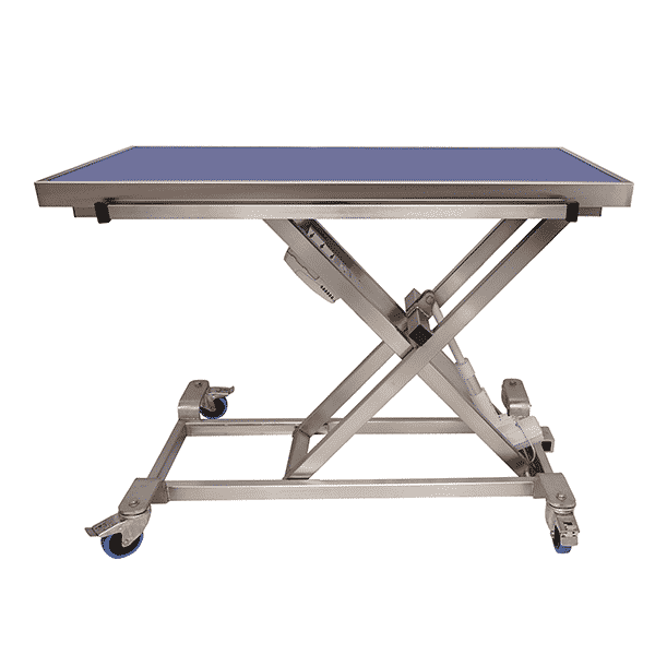 electric consultation table with radiology tray