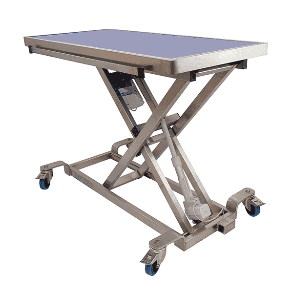 electric consultation table with radiology table top max height