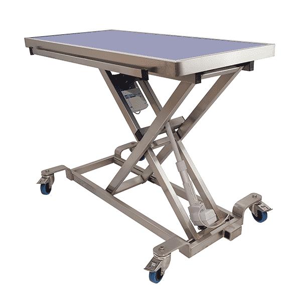 table de consultation electrique avec plateau de radiologie hauteur max