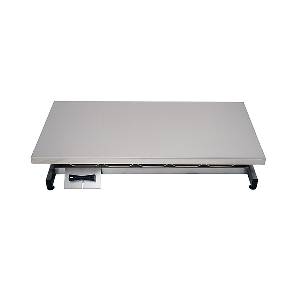 TA400000 Table consultation électrique ELITE plateau plat INOX N1