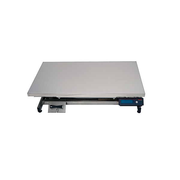TA400100 Electric consultation table ELITE stainless steel flat plate with N2 weighing system