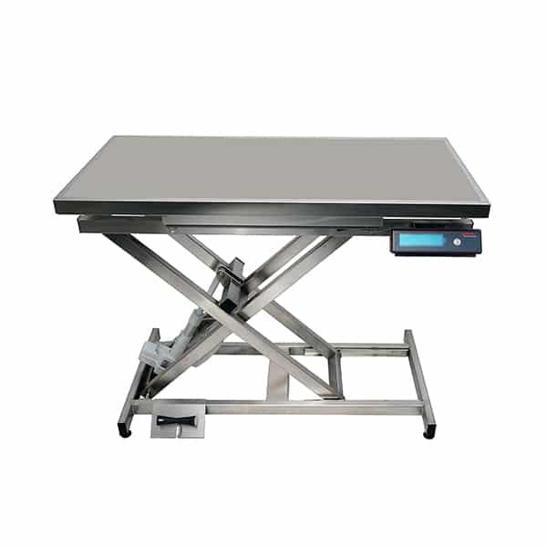 TA400110 Table consultation électrique ELITE tapis et cadre avec pesée N729