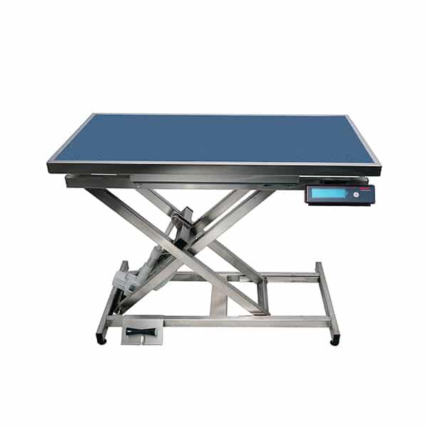TA400110 Table consultation électrique ELITE tapis et cadre avec pesée N732