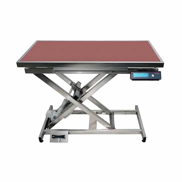 TA400110 Table consultation électrique ELITE tapis et cadre avec pesée N741