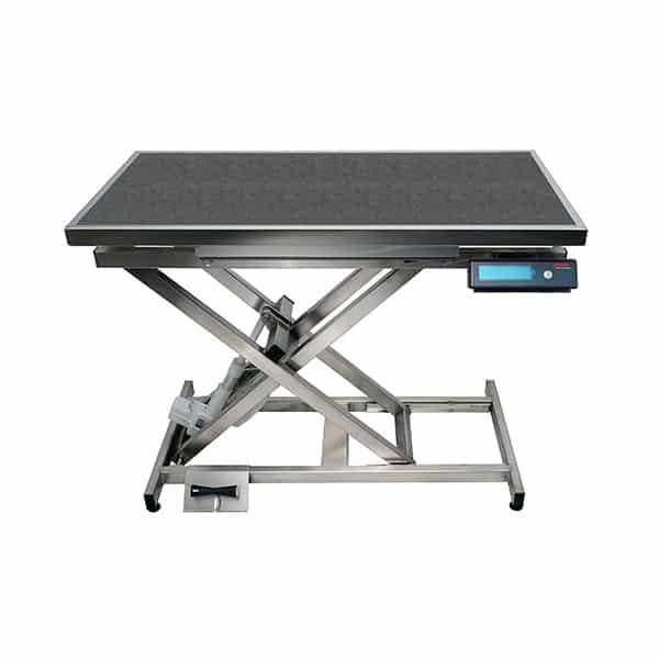 TA400110 Table consultation électrique ELITE tapis et cadre avec pesée N766