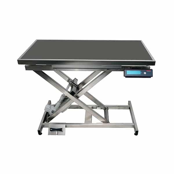 TA400110 Table consultation électrique ELITE tapis et cadre avec pesée N831