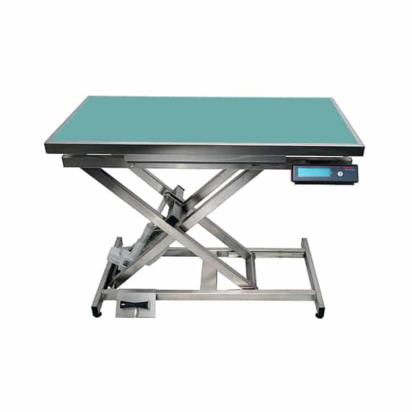 TA400110 Table consultation électrique ELITE tapis et cadre avec pesée N839