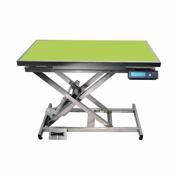 TA400110 Table consultation électrique ELITE tapis et cadre avec pesée N840