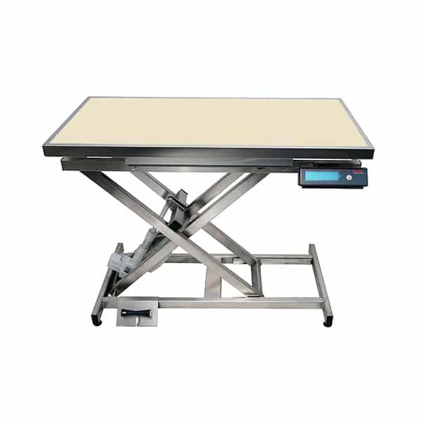 TA400110 Table consultation électrique ELITE tapis et cadre avec pesée N848
