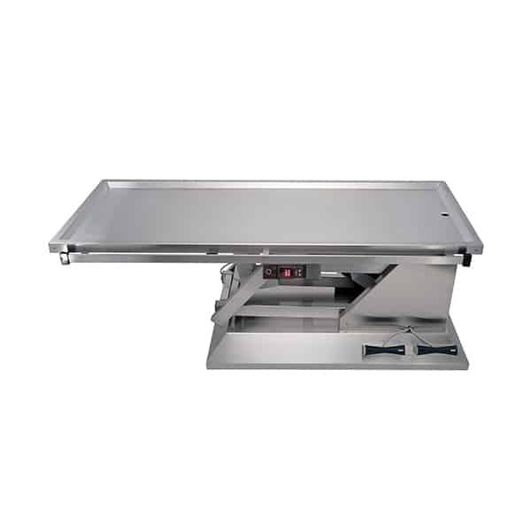 TA701001 Table chirurgie plateau chauffant 1 évacuation 1400x530 (Proclive - déclive électrique) N1