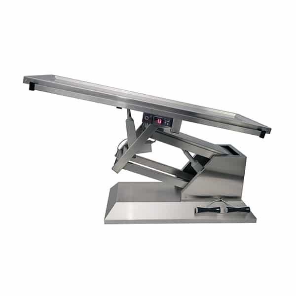 TA701005 Table chirurgie plateau chauffant 2 évacuations 1400x530 (Proclive - déclive électrique) N2