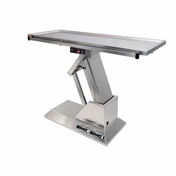 TA701005 Table chirurgie plateau chauffant 2 évacuations 1400x530 (Proclive - déclive électrique) N3