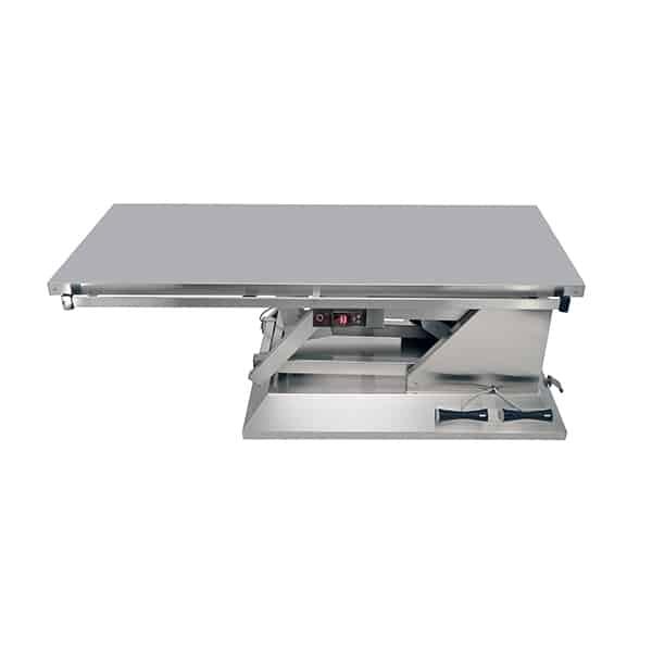 TA701010 Table chirurgie plateau chauffant plat 4 roues 1400x530 (Proclive - déclive électrique) N1