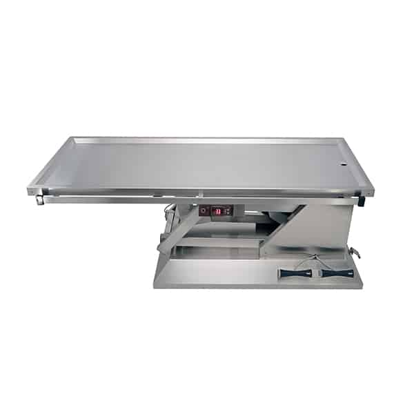 TA701011 Table chirurgie plateau chauffant 1 évac 4 roues 1400x530 (Proclive - déclive électrique)N1