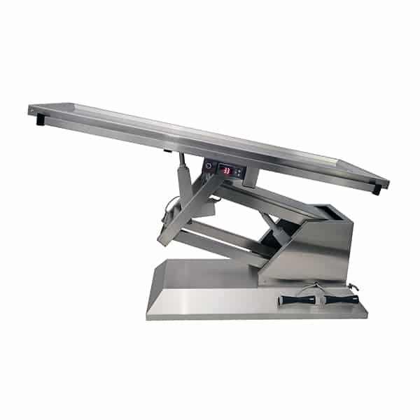 TA701015 Table chirurgie plateau chauffant 2 évacuations 4 roues 1400x530 (Proclive - déclive électrique) N2