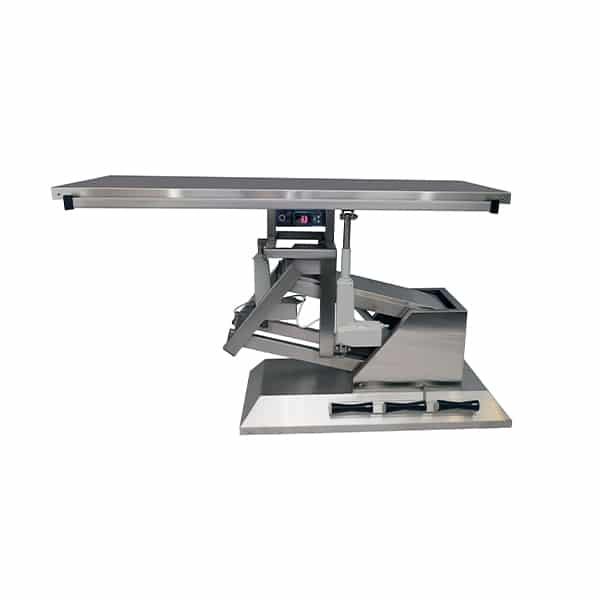 TA701100 Table chirurgie plateau chauffant plat 1400x530 (Proclive - déclive électrique) inclinaison 3e sens N2