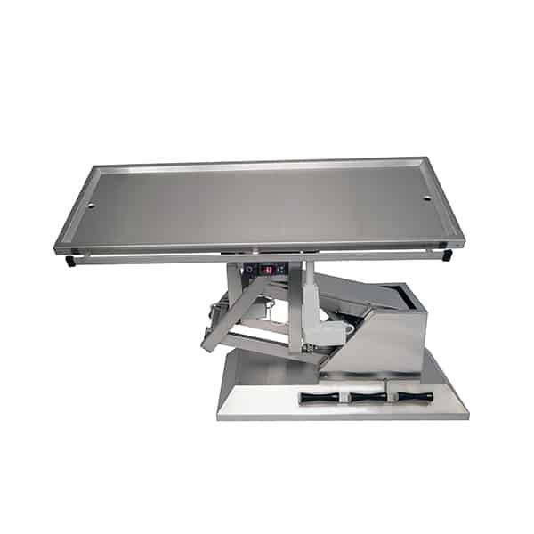 TA701105 Table chirurgie plateau chauffant 2 évac 1400x530 (Proclive - déclive électrique) inclinaison 3e sens N4