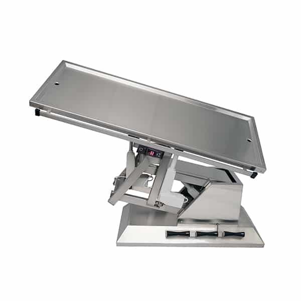 TA701105 Table chirurgie plateau chauffant 2 évac 1400x530 (Proclive - déclive électrique) inclinaison 3e sens N5
