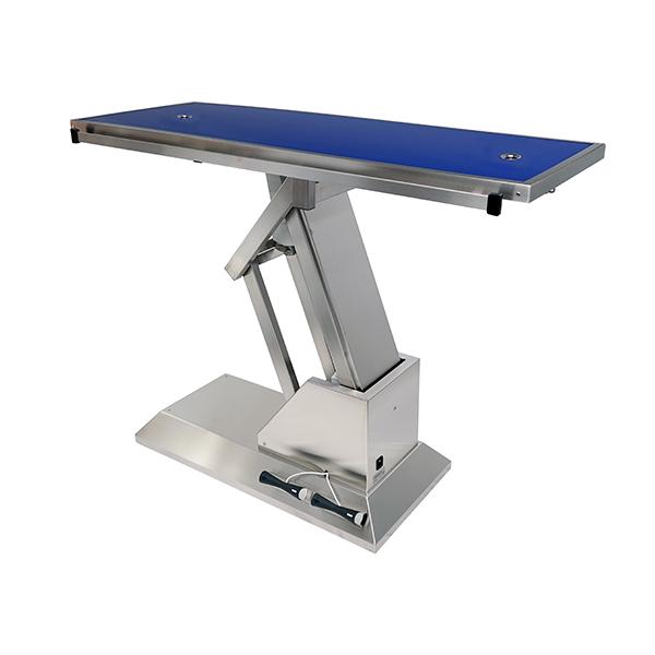 TA703005 Table chirurgie plateau Radiologie 2 évacuations 1400x530 (Proclive - déclive électrique) N3