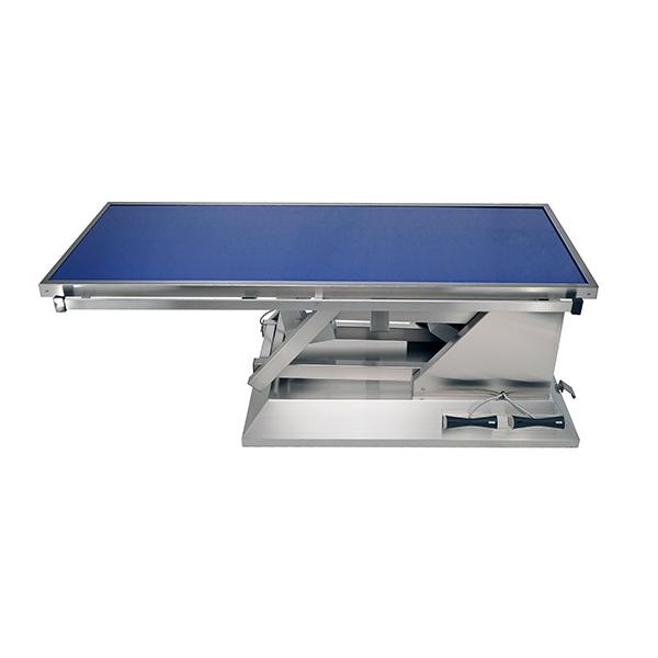 TA703010 Table chirurgie plateau Radiologie plat 4 roues 1400x530 (Proclive - déclive électrique) N1