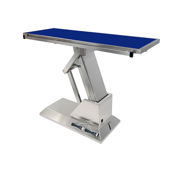 TA703010 Table chirurgie plateau Radiologie plat 4 roues 1400x530 (Proclive - déclive électrique) N3