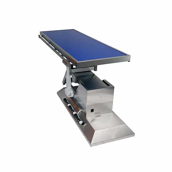 TA703100 Table chirurgie plateau Radiologie plat 1400x530 (Proclive - déclive électrique) inclinaison 3e sens N4