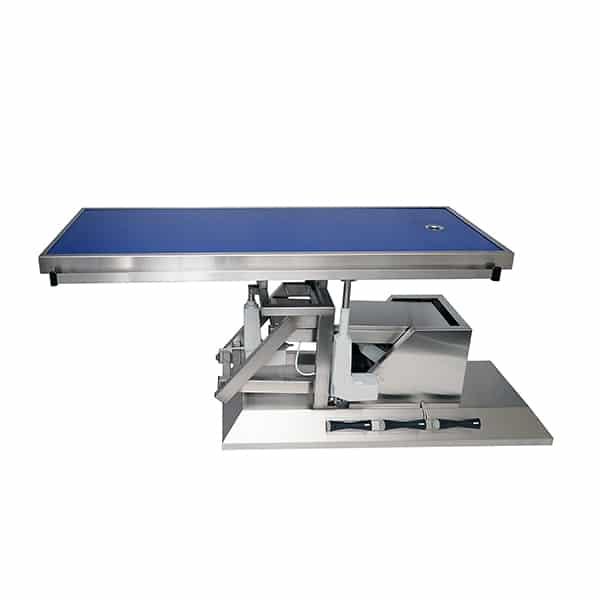 TA703101 Table chirurgie plateau Radiologie 1 évacuation 1400x530 (Proclive - déclive électrique) inclinaison 3e sens N1